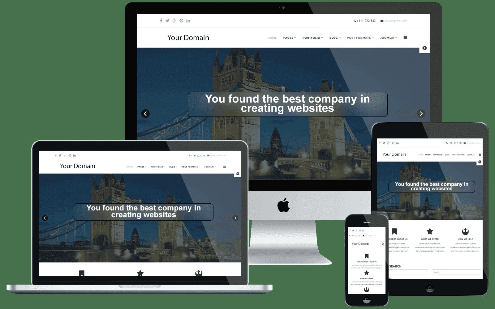 Web-Hub, Responsywne strony internetowe, tworzenie stron WWW
